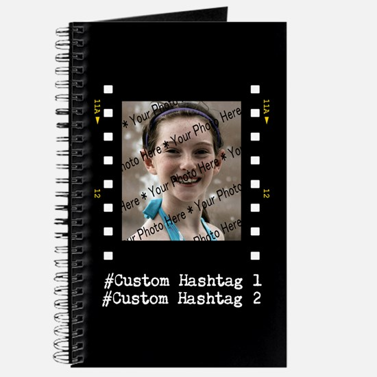 Personalized Selfie Hashtag Frame Journal