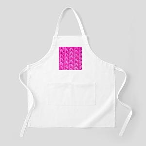 Pink Kniting - Crafty BBQ Apron