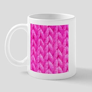 Pink Kniting - Crafty Mug