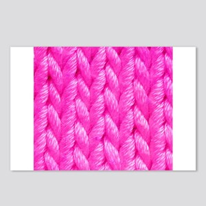 Pink Kniting - Crafty Postcards (Package of 8)