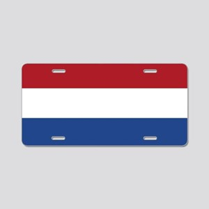 Netherlands Flag Aluminum License Plate