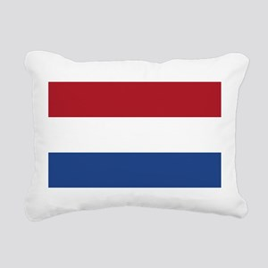 Netherlands Flag Rectangular Canvas Pillow