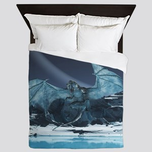 Ice Dragon Queen Duvet