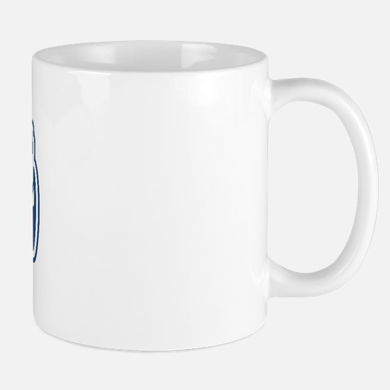 WB Dad [German] Mug