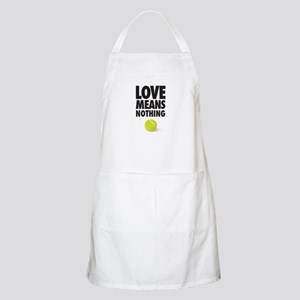 LOVE MEANS NOTHING - TENNIS Apron