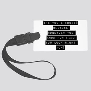 Are You A Fruit Luggage Tag