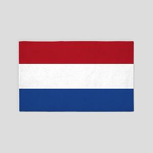 Netherlands Flag 3'x5' Area Rug