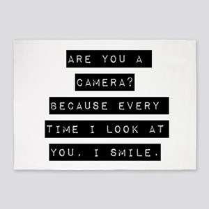 Are You A Camera 5'x7'Area Rug