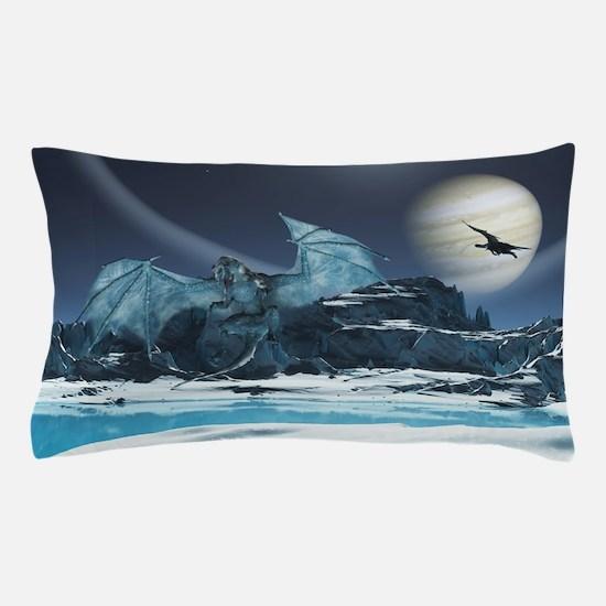 Ice Dragon Pillow Case