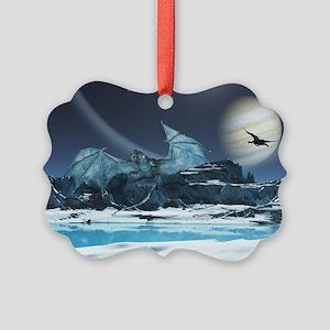 Ice Dragon Ornament
