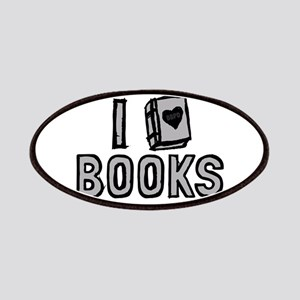 I Love Books Patches