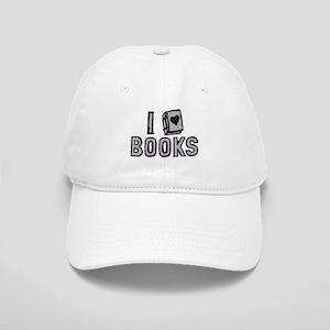 I Love Books Baseball Cap