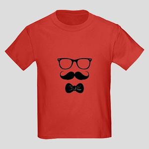 Mister Moustache Kids Dark T-Shirt