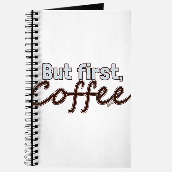 But First, Coffee Journal