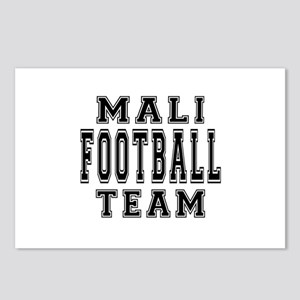 Mali Football Team Postcards (Package of 8)