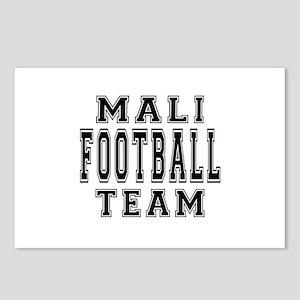 Mali Football Team Postcards (Package of 8)