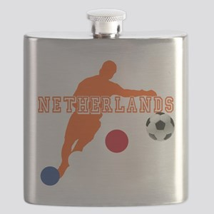 Netherlands Football Flask