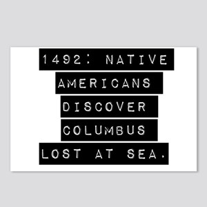 1492 Native Americans Postcards (Package of 8)