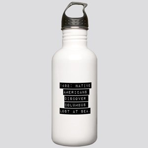1492 Native Americans Water Bottle