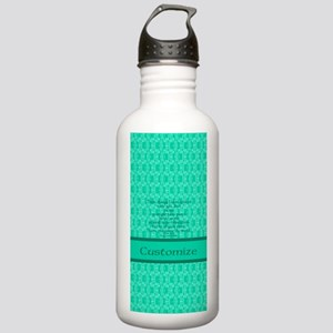 John16:33 The Word Aqu Stainless Water Bottle 1.0L
