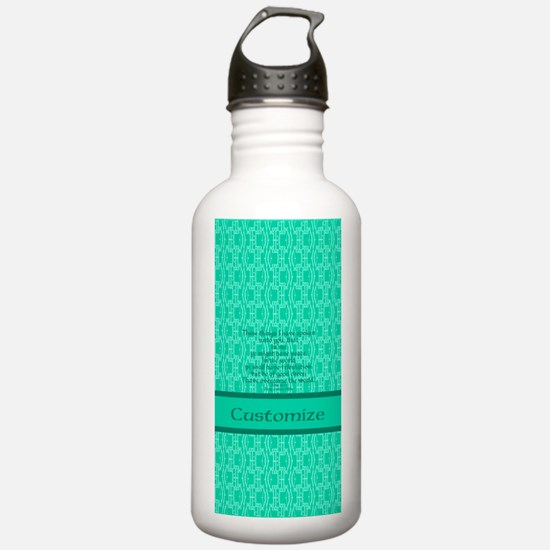 John16:33 The Word Aqu Sports Water Bottle