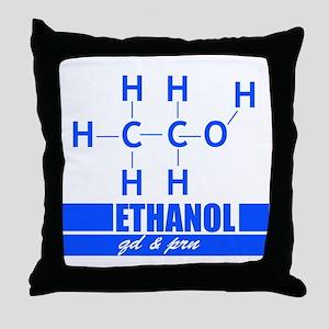 ETOH QD and PRN Throw Pillow