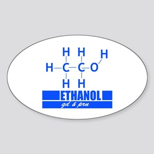 ETOH QD and PRN Sticker (Oval)
