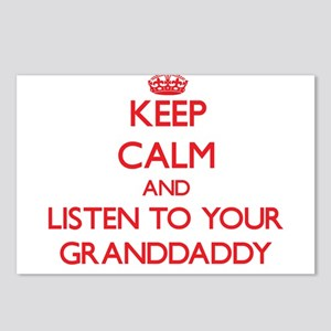 Keep Calm and Listen to your Granddaddy Postcards