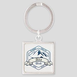 Alta Ski Resort Utah Keychains