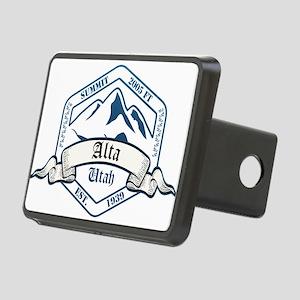 Alta Ski Resort Utah Hitch Cover