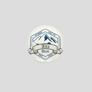 Alta Ski Resort Utah Mini Button