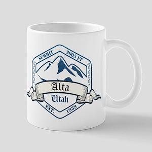 Alta Ski Resort Utah Mugs