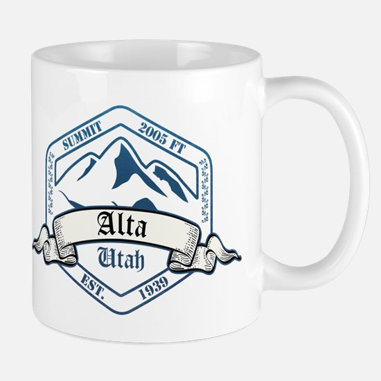 Alta Ski Resort Utah Mugs