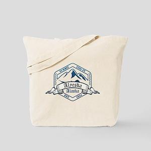 Alyeska Ski Resort Alaska Tote Bag