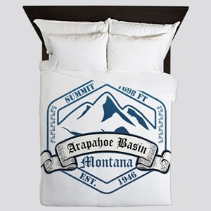 Arapahoe Basin Ski Resort Colorado Queen Duvet