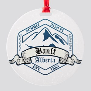 Banff Ski Resort Alberta Ornament