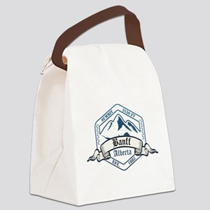 Banff Ski Resort Alberta Canvas Lunch Bag