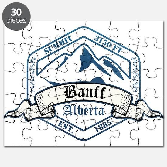 Banff Ski Resort Alberta Puzzle