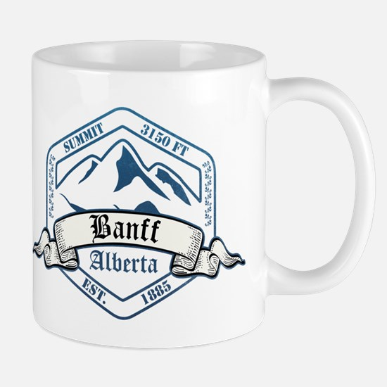 Banff Ski Resort Alberta Mugs