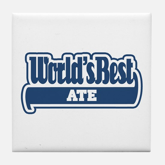 WB Dad [Dakota] Tile Coaster