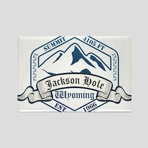Jackson Hole Ski Resort Wyoming Magnets