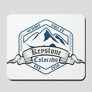 Keystone Ski Resort Colorado Mousepad