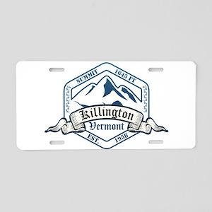 Killington Ski Resort Vermont Aluminum License Pla