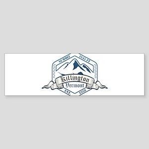 Killington Ski Resort Vermont Bumper Sticker
