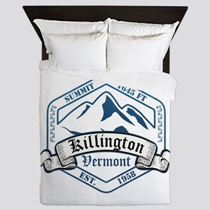 Killington Ski Resort Vermont Queen Duvet