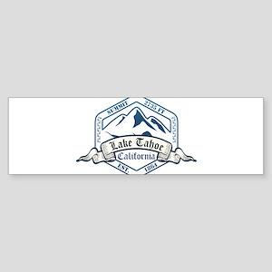 Lake Tahoe Ski Resort California Bumper Sticker