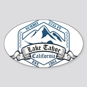Lake Tahoe Ski Resort California Sticker