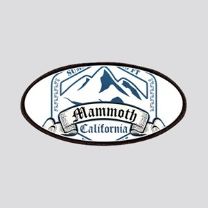 Mammoth Ski Resort California Patches