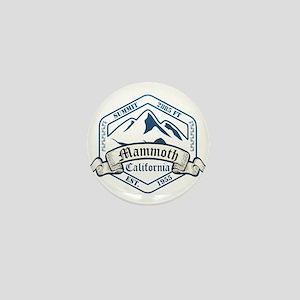 Mammoth Ski Resort California Mini Button