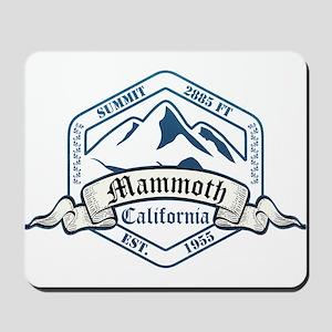 Mammoth Ski Resort California Mousepad